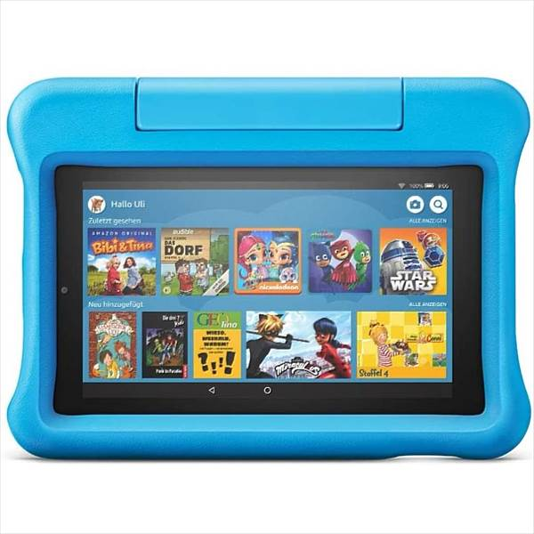 Amazon Fire 7 Kids Edition (2019) blau (23-004417-01)
