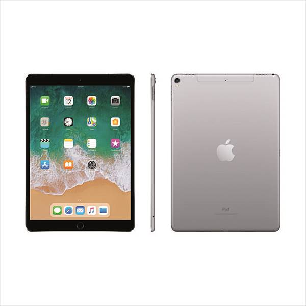 "Apple iPad Pro 10.5"" (2017) Wi-Fi + Cellular (4G), 64GB, Space Grau (MQEY2TY/A)"