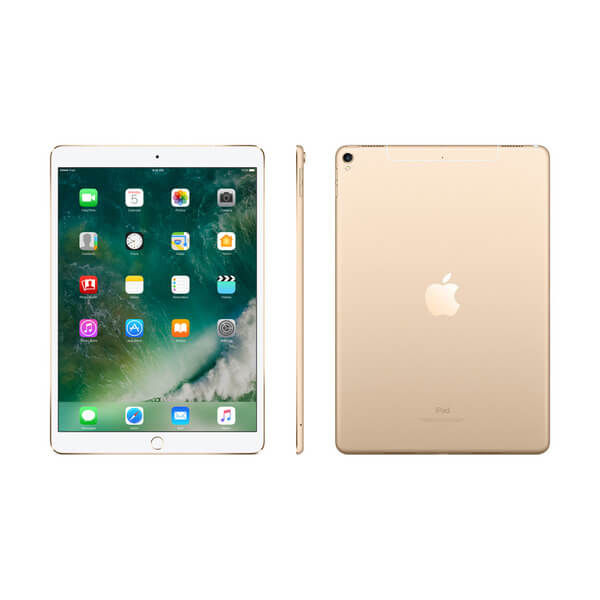 "Apple iPad Pro 10.5"" (2017) Wi-Fi + Cellular (4G), 64GB, Gold (MQF12TY/A)"