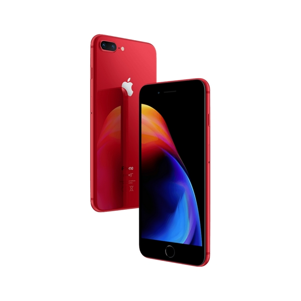 Apple iPhone 8 Plus, 64GB, (PRODUCT) RED Special Edition (MRT92ZD/A)