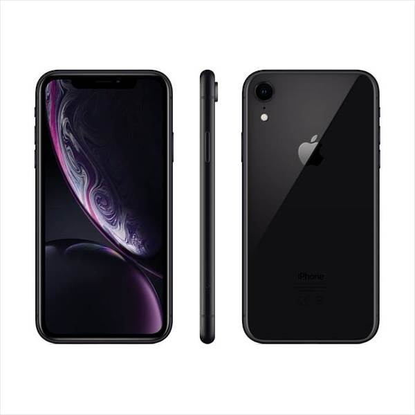 Apple iPhone XR, 64GB, Schwarz (MRY42ZD/A)