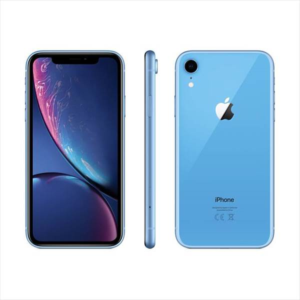 Apple iPhone XR, 64GB, Blau (MRYA2ZD/A)