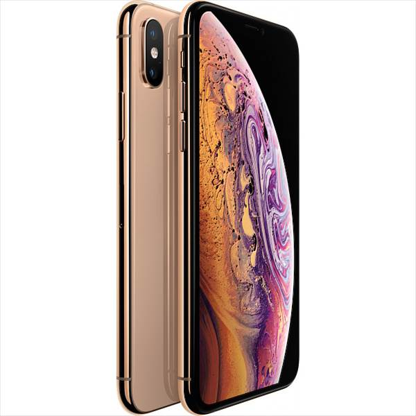 Apple iPhone XS, 512GB, Gold (MT9N2ZD/A)
