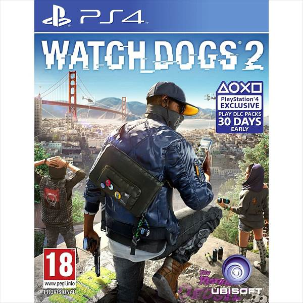 PS4 Watch Dogs 2 (300086140)